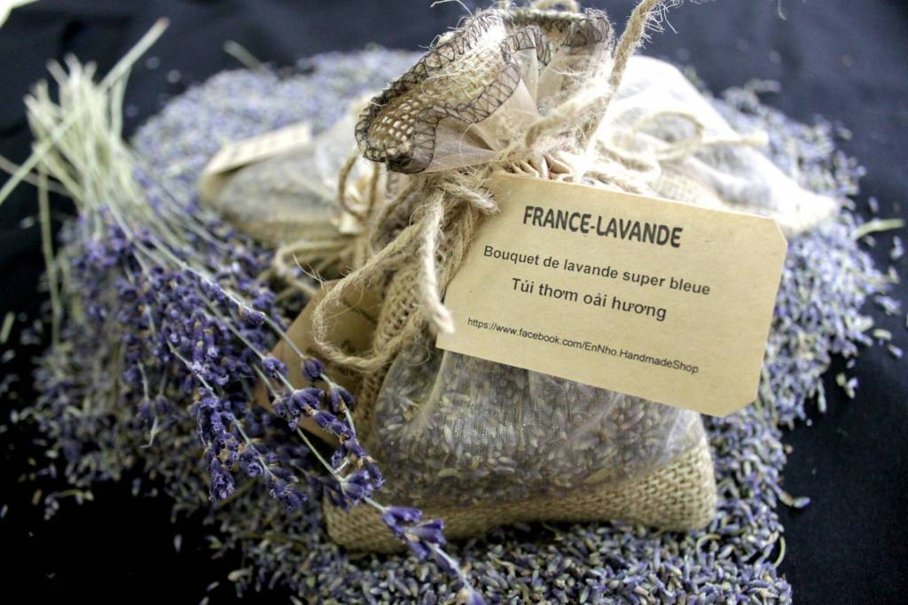 bán hoa oải hương khô